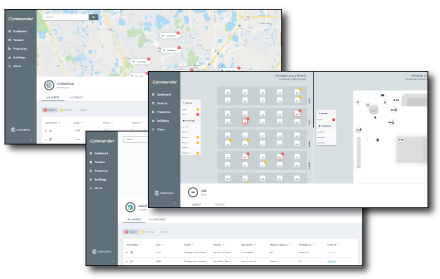 iCommander monitoring service